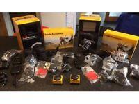 2 Kodak PixPro SP360 Action Cameras and accessories