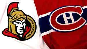 HABS vs SENATORS (Tomorrow/Demain) CHEAP TICKETS