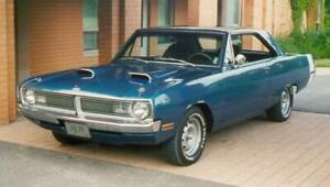 Wanted 340 Dart Duster Demon 4 speed car
