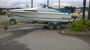 24' Zeta for Sale. Excellent condition