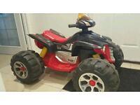 Kids 12v rechargeable quad bike
