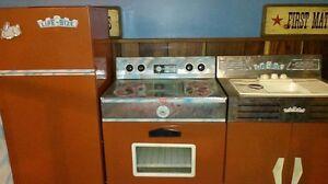 1960's kitchen play set - fridge, sink, stove Cambridge Kitchener Area image 1