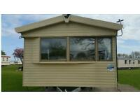Willerby 2014 Salsa Eco static caravan is available for hire at Craig Tara Holiday Park.