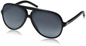 Marc Jacobs Marc70s Aviator Sunglasses, Black/Gray Gradient,