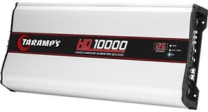 Taramps 10K HD10,000 1-Ohm Stable 10,000 Watts RMS @ 1 OHM