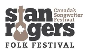Two STAN ROGERS FEST Weekend passes for sale!