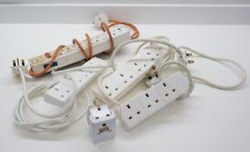 Multi plug adaptors - 3 / 4 gang