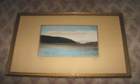 Digby Gut Hand Tinted and Framed Vintage Photograph
