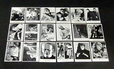 1973 Creature Feature You'll Die Laughing Test Set (18) Nm/Mt