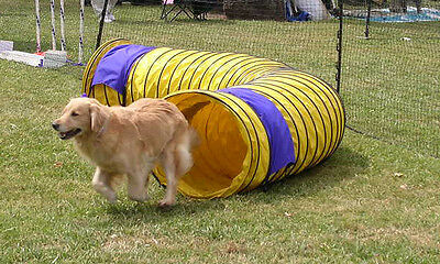 Heavy Duty 15' Dog Agility Competition Tunnel Free Ship