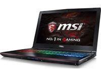 MSI Gaming Laptop gtx 1060 i7 7700