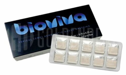 Bioviva Hemostatic Gauze, Sure Stop, Wound Dressing - Bleeding Control Stop