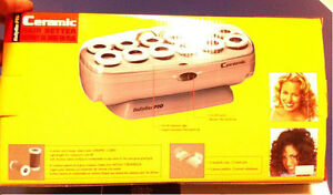 Ceramic hair instant heat 12 roller set $50 new (pick up only)