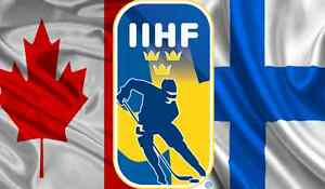 World Juniors Canada vs Finland Dec. 19 Pre-Tourny Game