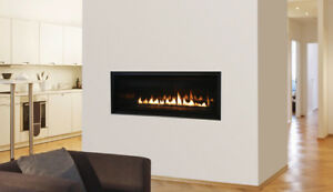 Gas, Electric and wood fireplace for sale