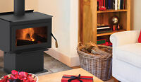 Iron Strike Tahoma Wood Stove (Alsip's Building Products)