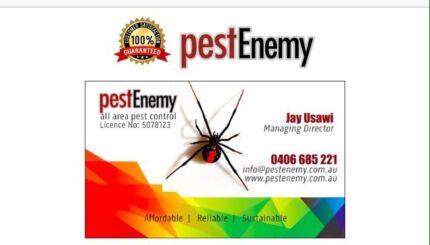Pest Enemy Control    $99