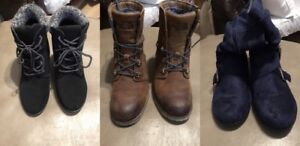 Boots (3 pairs)