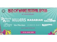 2 x Isle of Wight Festival Weekend Camping Tickets