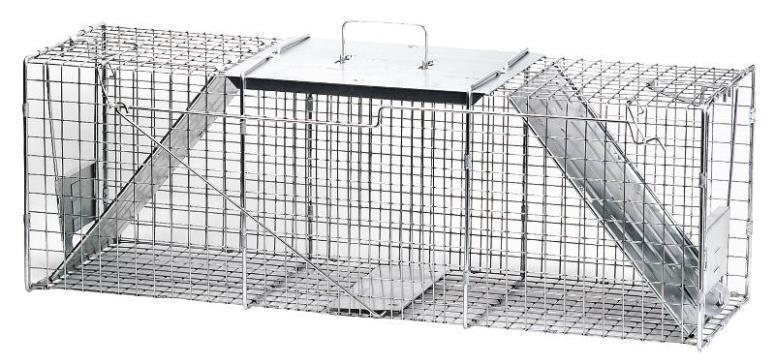 NEW HAVAHART 1045 RACCOON COON WOODCHUCK GARDEN LIVE ANIMAL TRAP CAGE
