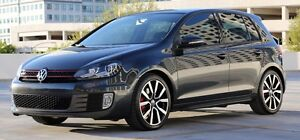 2012 Volkswagen GTI 5-portes GPS, CUIR, toit ouvrant, Mags 18po