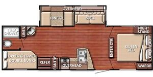 CONQUEST 269 BH( Bunk house)