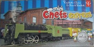 PRESIDENTS CHOICE - MINI CHEFS Electric Train Set - HO Gauge