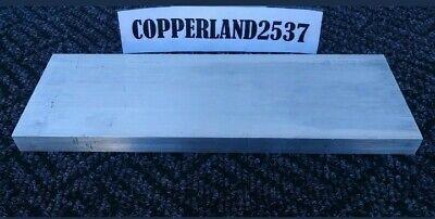 .5 X 3 X 8 Long New 6061 T6511 Solid Aluminum Stock Plate Flat Bar Block 12