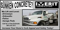 Concrete Lifting/Leveling & Void Filling Services