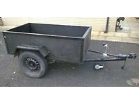 Car Trailer 6ft with suspension