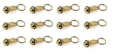 12x Schlüsselanhänger, Hotelschlüsselanhänger, Hotel, mit Gummiring, in klein