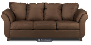 For Sale - Chocolate Brown Sofa