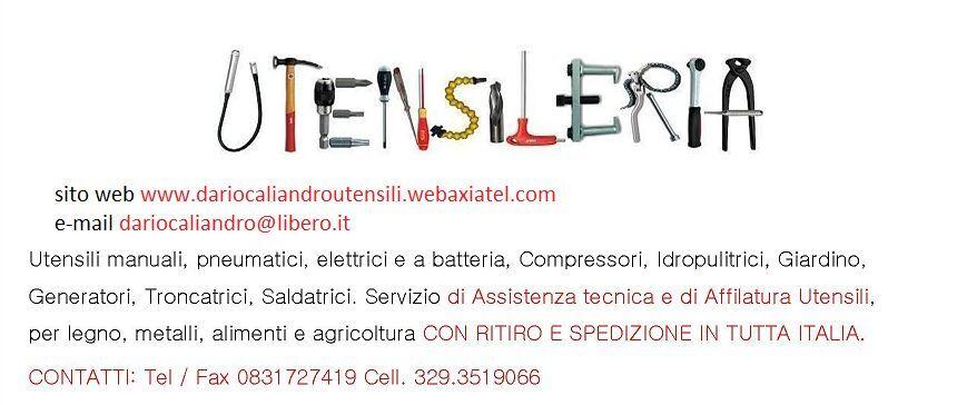 Dario Caliandro Utensili