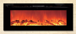 Toso Electric fireplace with Led light