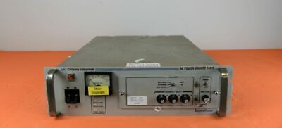 California Instruments 1501l Ac Power Supply Single Phase