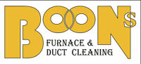 BOONS FURNACE AND DUCT CLEANING LTD