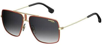 NEW CARRERA 1006/S AU2 Gold Red Grey Gradient 60mm Unisex Big Pilot Sunglasses