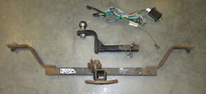 Trailer hitch for car - Hidden Hitch wiring harness and adaptor