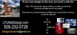 Get your cottages and rental properties online quickly!