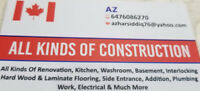 Professional General Contractor Renovations & Handyman