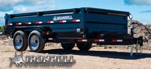 SAVE $1000.00+ on LowPro Dump Trailers at Automan Trailers