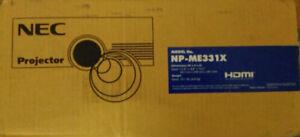 NEC Projector NP-ME331X LCD Portable Projector 3300 WUXGA