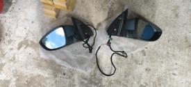 VW Passat b7 2010-2015 pair of wing mirror
