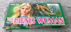 Vintage 1976 Parker Brothers The Bionic Woman Board Game