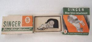 Vintage Singer Blind Stitch Attachment #160616