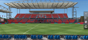 TFC vs Montreal - 2 Tickets, Row 12, Section 106