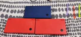 Nintendo DSI(X3) and 3DS with 12 Games (+ R4 Card)