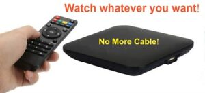No More Cable - Turn Your TV into a Smart TV Android TV Box NEW!