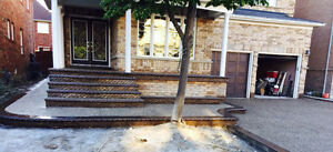 Concrete driveways patios sidewalks(Contact-647-638-3856)