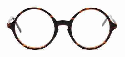 Jahrgang Herren Damen Runden Schildkröte Brillengestelle Brille Rahmen Retro Rx